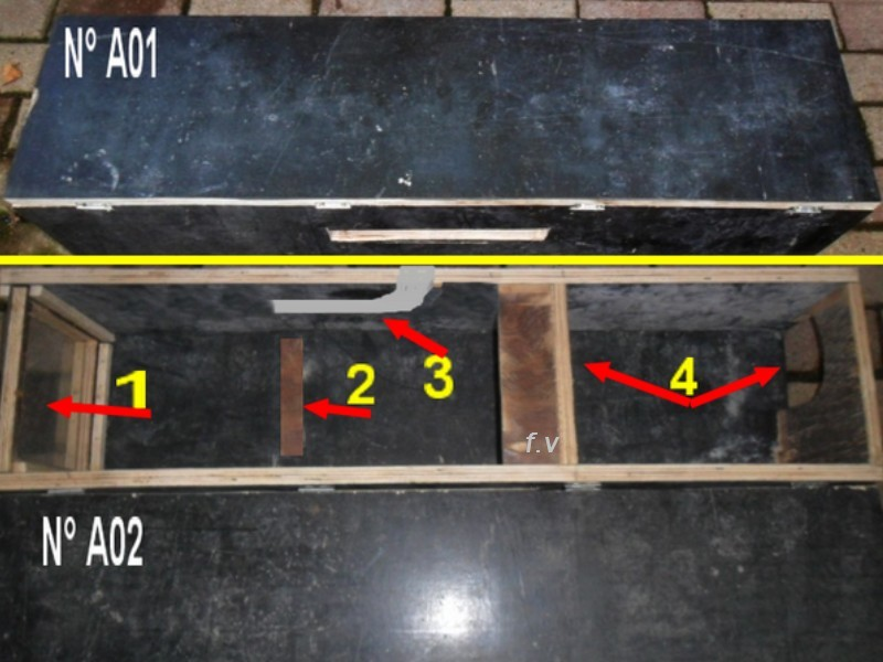 Fabrication d'une boite avec piège x destinée a la régulation d'une fouine Boite_10