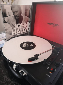 "Disquaire Day 2019 ""Hello Johnny"" vinyle rose le 13 avril 44308711"