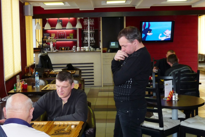 """Кафе """"Паприка"""" 30.03.13 турнир по коротким нардам P1110411"""