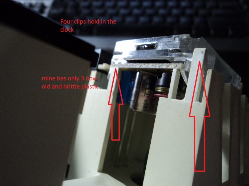 LCD clocks Clock410