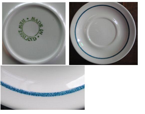 Saucer- Tuquoise - blue line Captur10