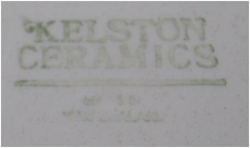 No Name Ironstone Patterned Plate.  This is Roma Ivory d367. Kelsto10