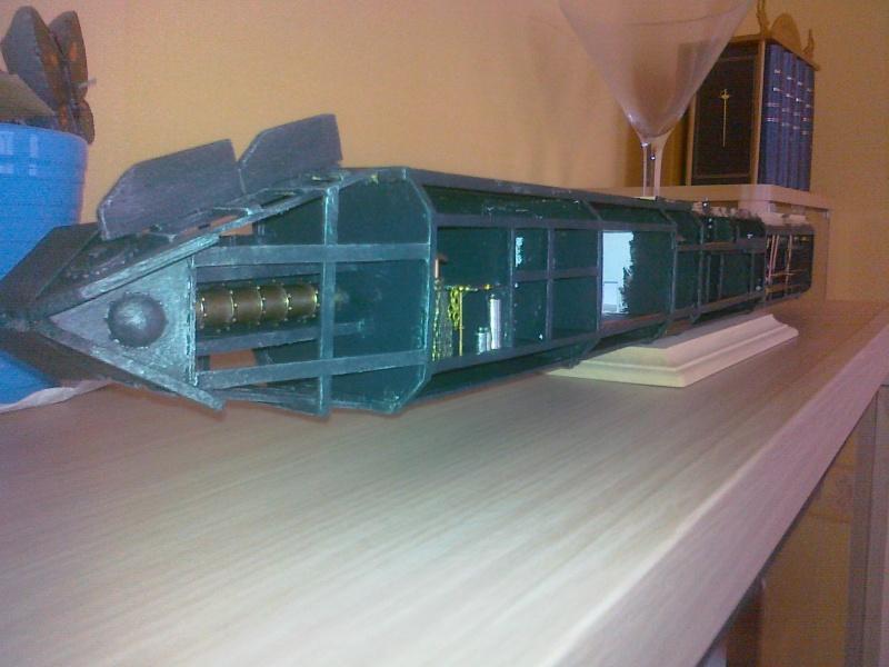 Le nautilus au 1/100 ème en scratch 00211