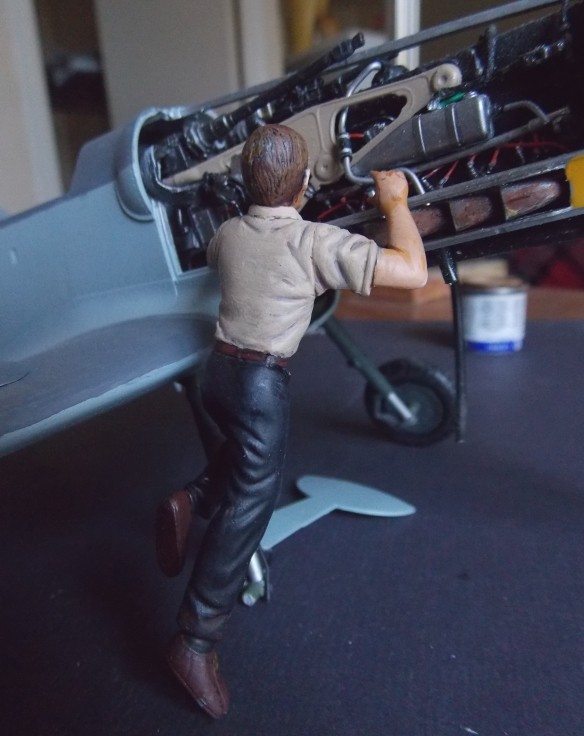 Projet Gunther Rall, Me BF 109 G6 et Mercedes 540 K + figurines au 1/24 Figure18