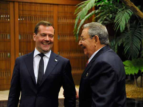 Recibió Raúl a Dimitri A. Medvedev 27605-10