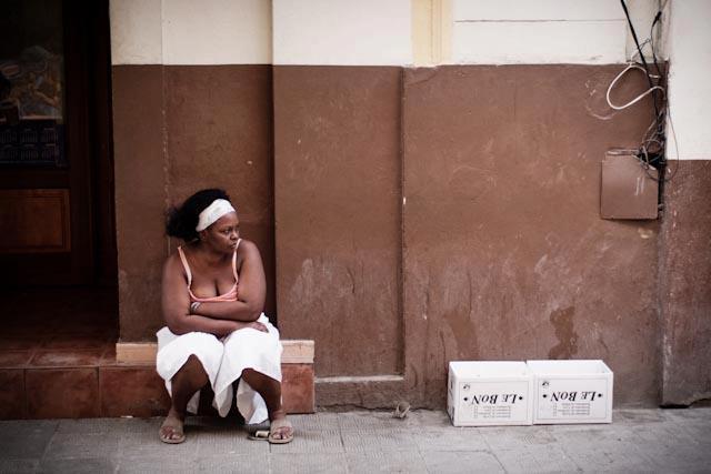Fotografia. Cuba, esperando el pasaje  Havana29