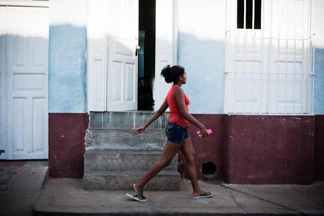 Fotografia. Cuba, esperando el pasaje  Havana31