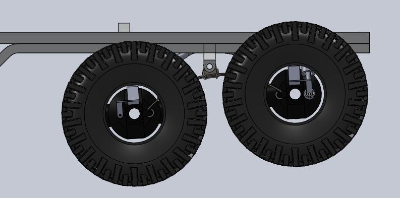 Unimog U5000 6x6  sur base axial Suspen14