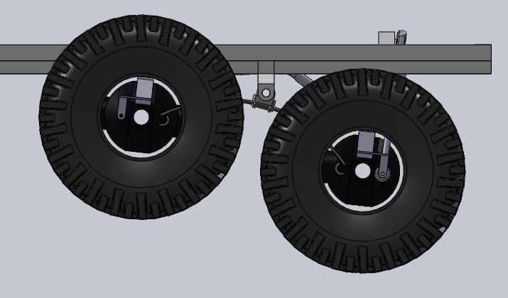 Unimog U5000 6x6  sur base axial Suspen15