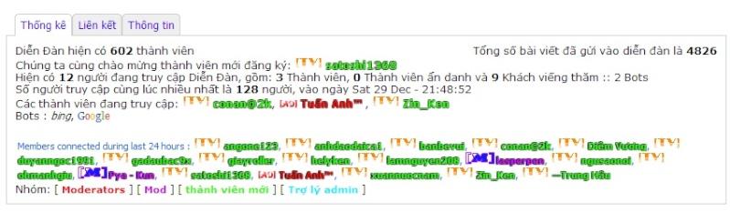 [Share] Code bảng thống kê dạng tabs Thongk10