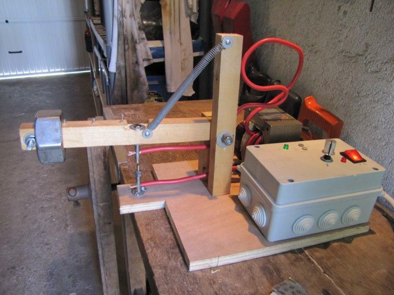 Fabrication d'un poste à souder par points Img_6511