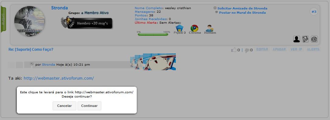 Aviso ao clicar em links Sem_t144