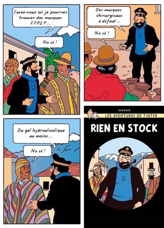Les meilleurs blagues/montages/meme sur le COVID - Page 8 Haddoc11