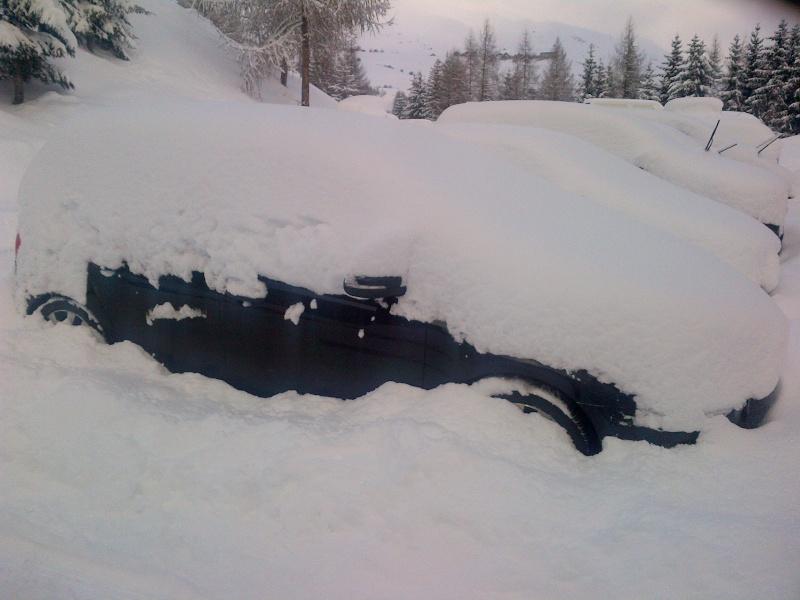 Ma GTD au sports d'hiver Villar10