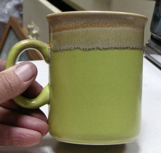 Lime green mug Cl_lim10