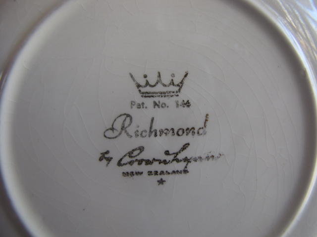 Richmond Crown Lynn Pattern no. 146 for the Gallery Cl_ric11