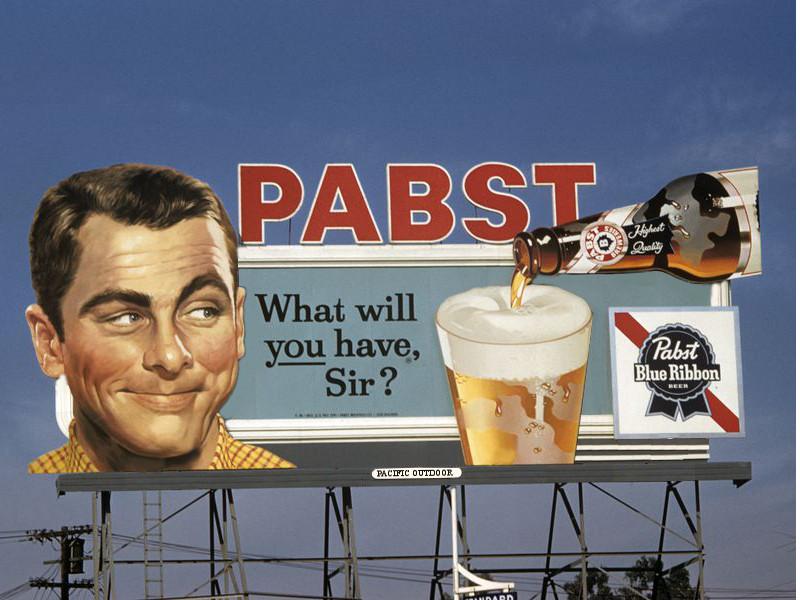 Construire un panneau publicitaire Pabst10