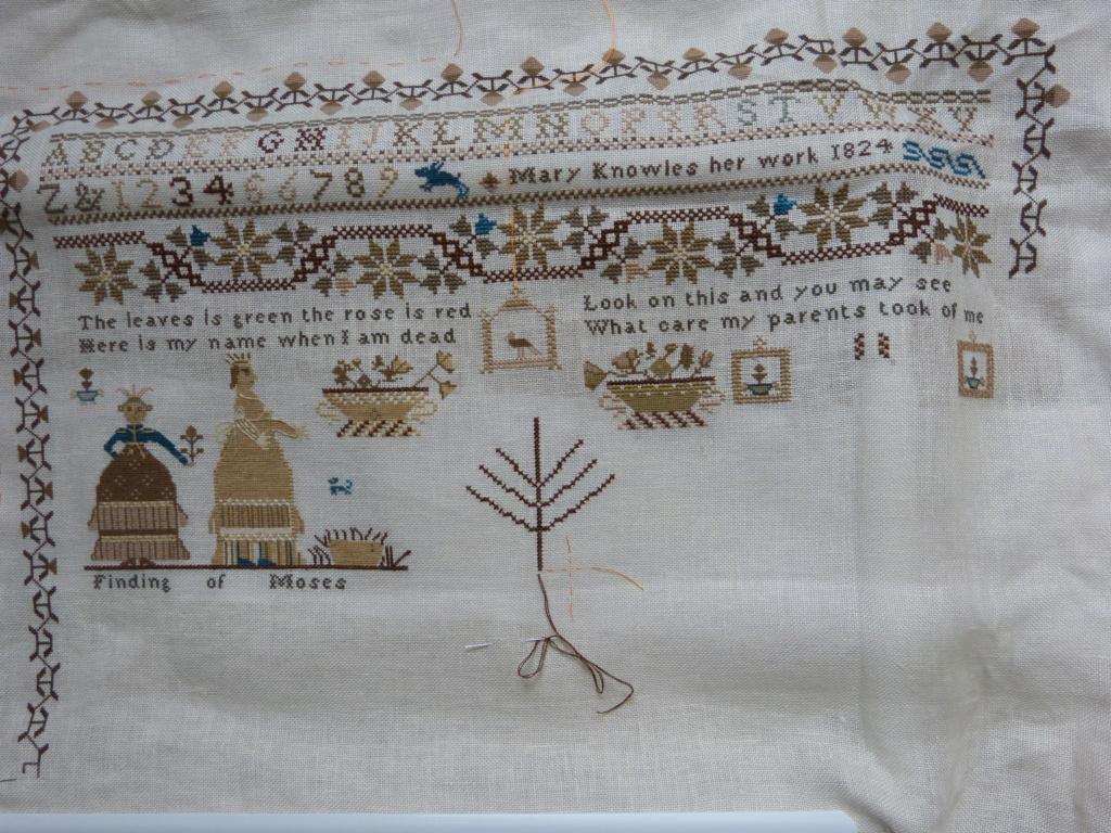 """SAL Moïse ou Moses: """"Mary Knowles 1824"""" de GigiR E13"""