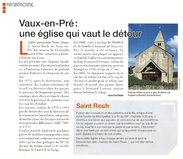 ASP Saint Louis,  Connaitre les églises de notre paroisse Eg_vau10
