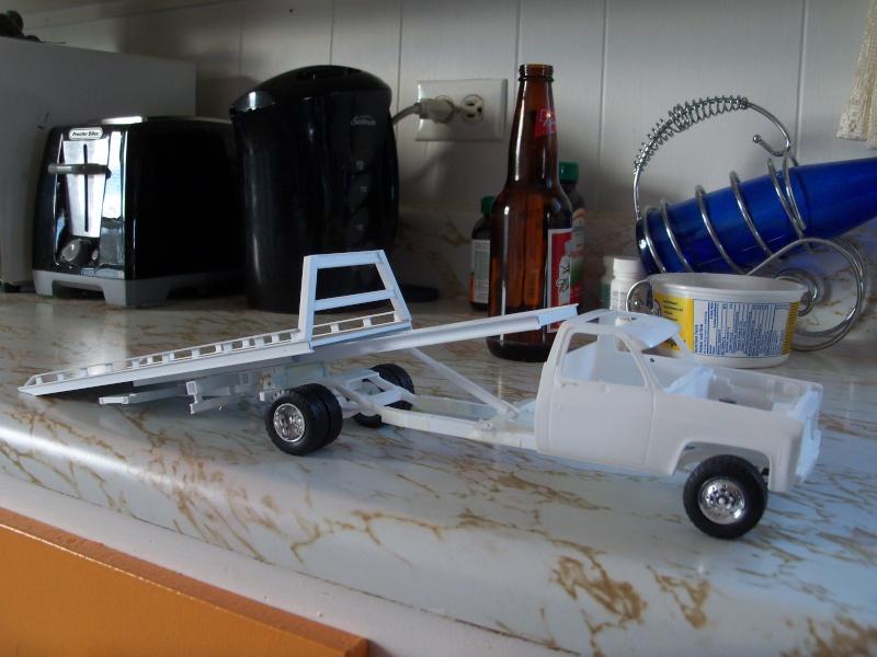 Remorque flatbed avec wheel Lift, GMC C30 1977 100_5842