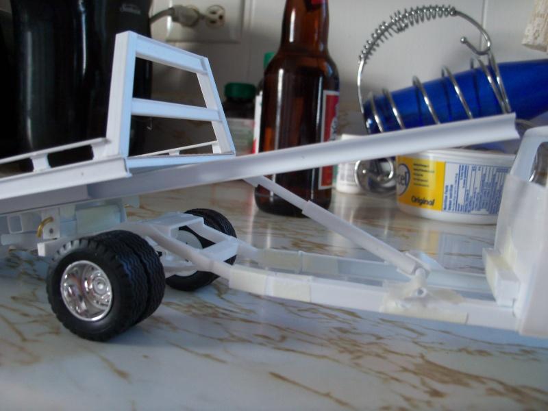 Remorque flatbed avec wheel Lift, GMC C30 1977 100_5843