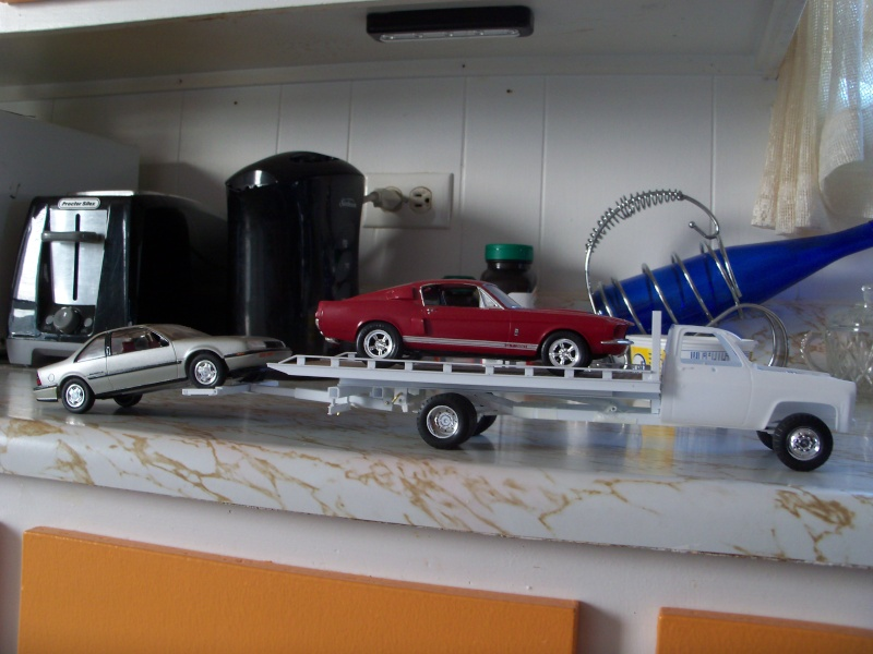 Remorque flatbed avec wheel Lift, GMC C30 1977 100_5851