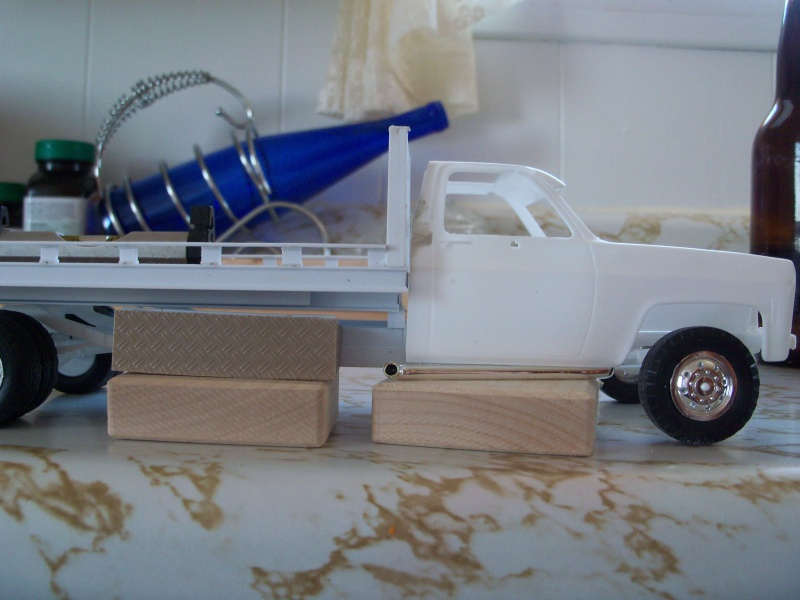 Remorque flatbed avec wheel Lift, GMC C30 1977 100_5858