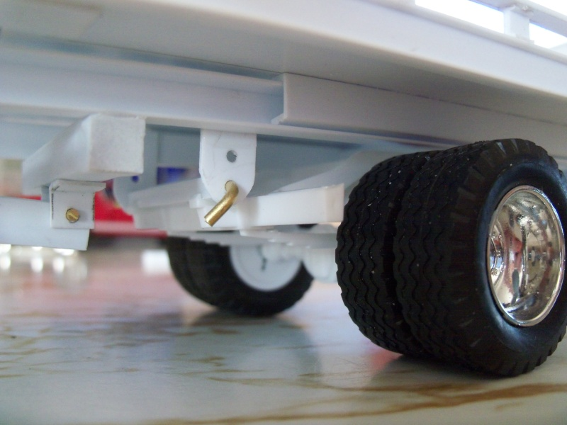 Remorque flatbed avec wheel Lift, GMC C30 1977 100_5916