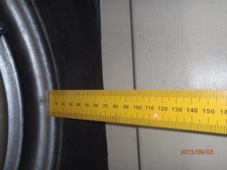 Réglage du parallélisme des roues avant P9030022