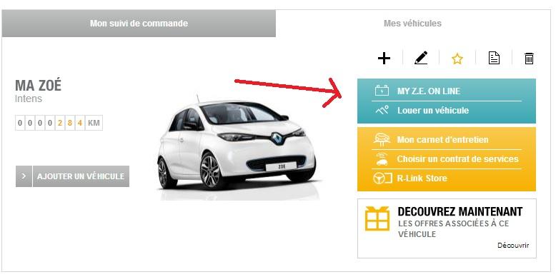 site renault.fr impossible de trouver le lien: MY ZE ON LINE Ze11