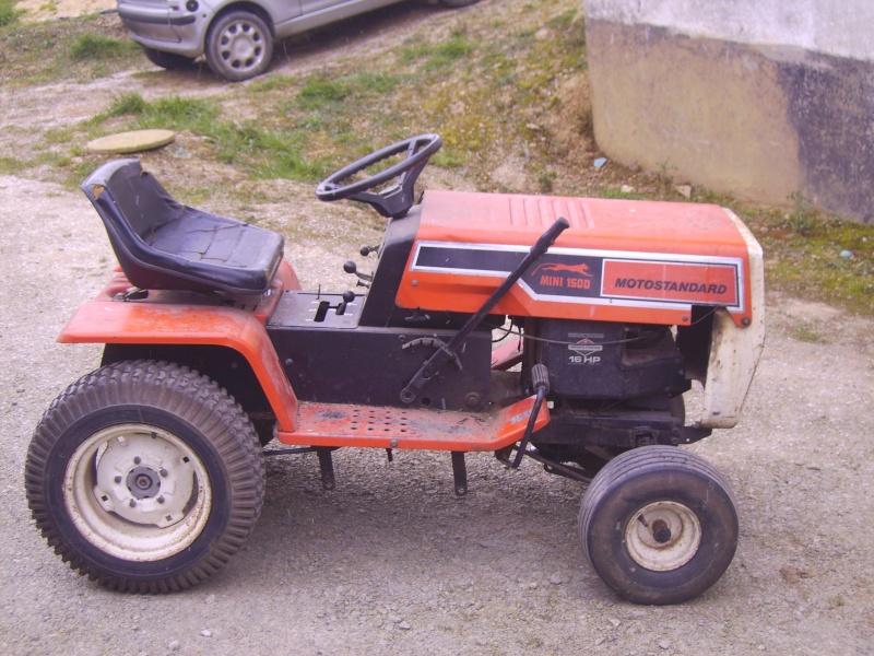 tracteur tondeuse motostandard mini 1500 Pict0411