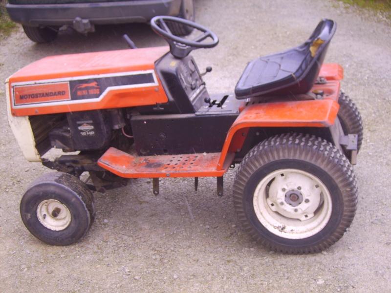 tracteur tondeuse motostandard mini 1500 Pict0413
