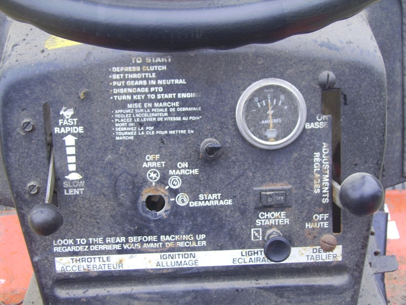 tracteur tondeuse motostandard mini 1500 Pict0415