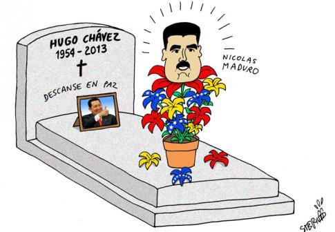 Le president de Venezuela Hugo Chavez vient de quitter la terre des hommes 1504-c10