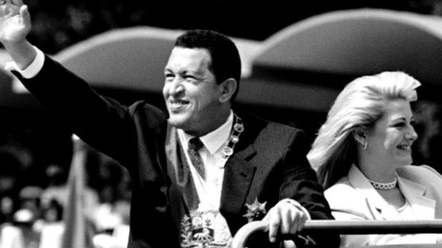 Le president de Venezuela Hugo Chavez vient de quitter la terre des hommes _6507910