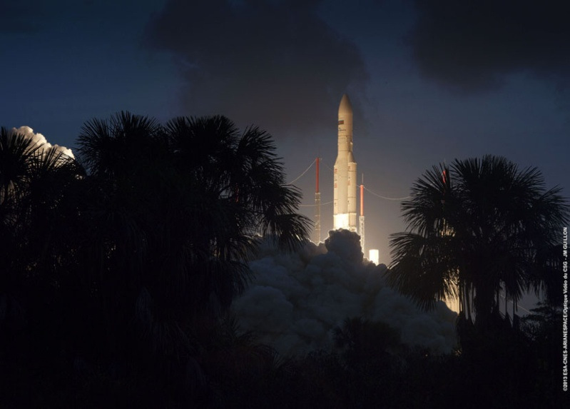 Après dix lancements réussis en 2012 Ariane11