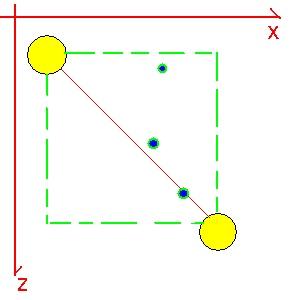 Position d'un point dans l'espace - 3D Image310