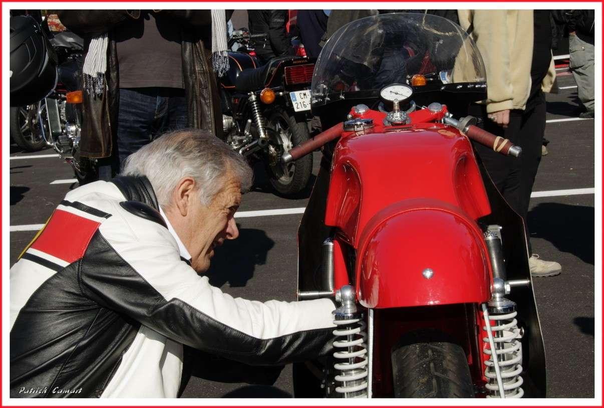 Vieilles Gloires : Pilotes et motos au Paul Ricard avril 2013 . A2_gia10
