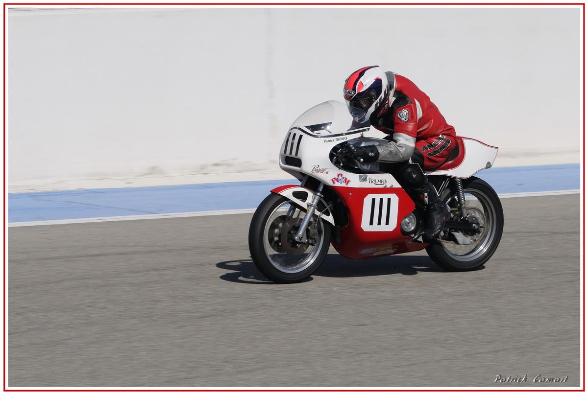 Vieilles Gloires : Pilotes et motos au Paul Ricard avril 2013 . E5_dsc10