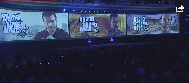 Grand Theft Auto V à la Gamescom. G110