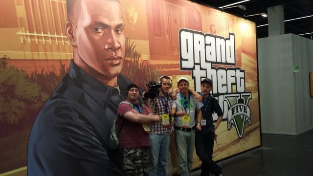 Grand Theft Auto V à la Gamescom. G310