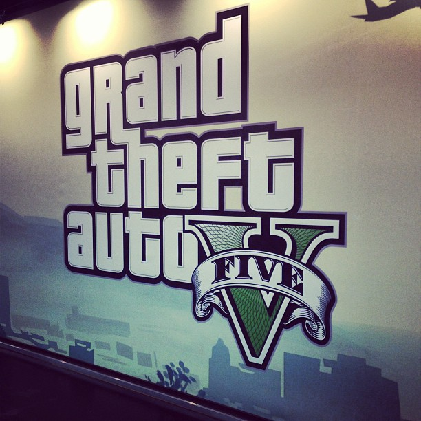 Grand Theft Auto V à la Gamescom. G410