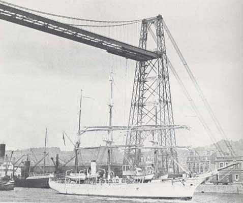 [Activité hors-Marine des ports] LE PORT DE ROUEN - Page 3 Pont_t11