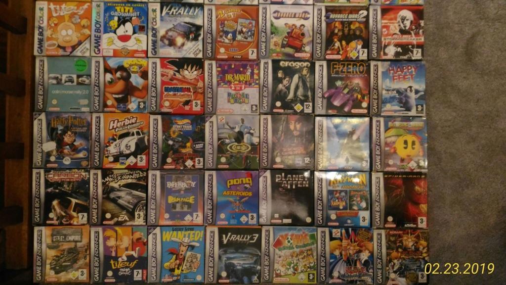 [ACH] Jeux Game Boy complets et jeux PCE P_201913