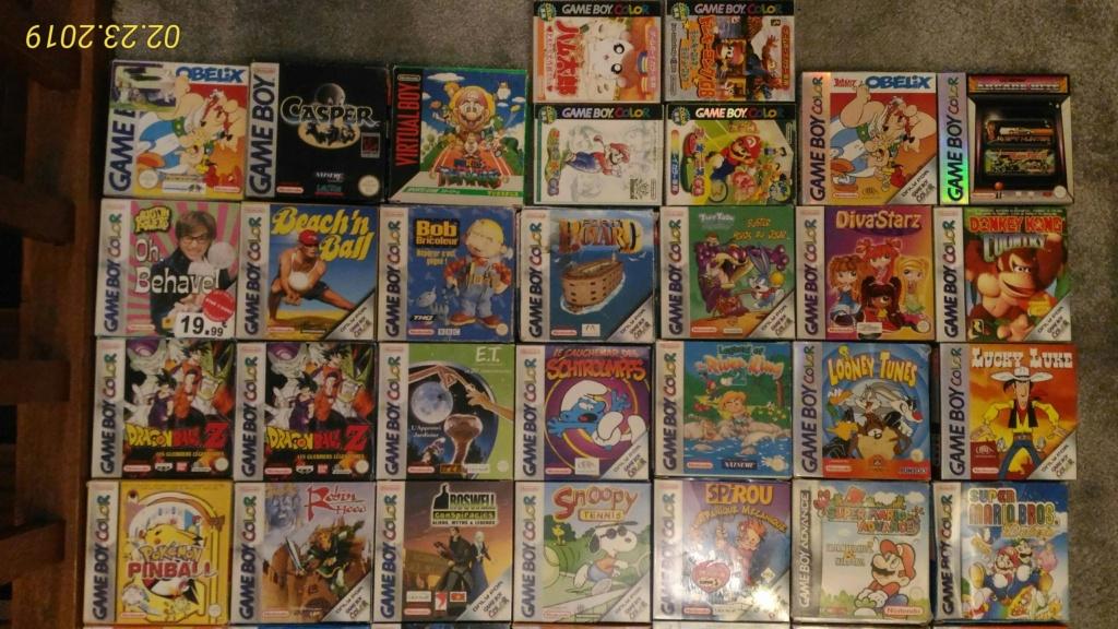 [ACH] Jeux Game Boy complets et jeux PCE P_201915