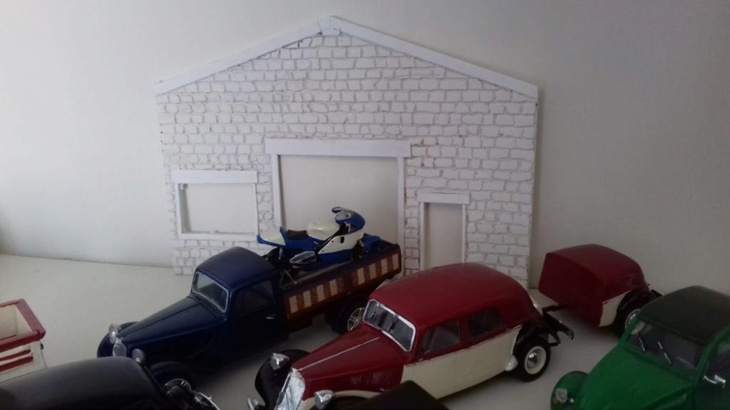 diorama pour fond de vitrine  20210463