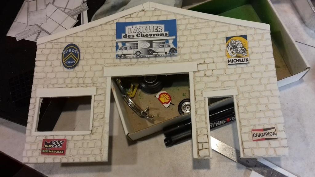diorama pour fond de vitrine  20210464