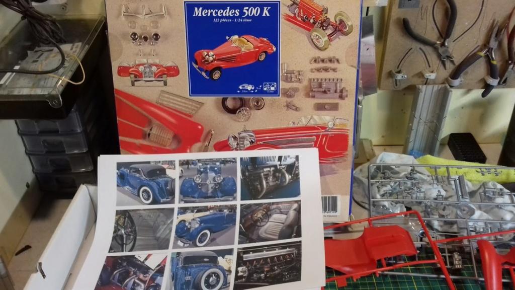From the box - Mercedes 500 K HELLER AU 1/24 *** Terminé en pg 3 20210552