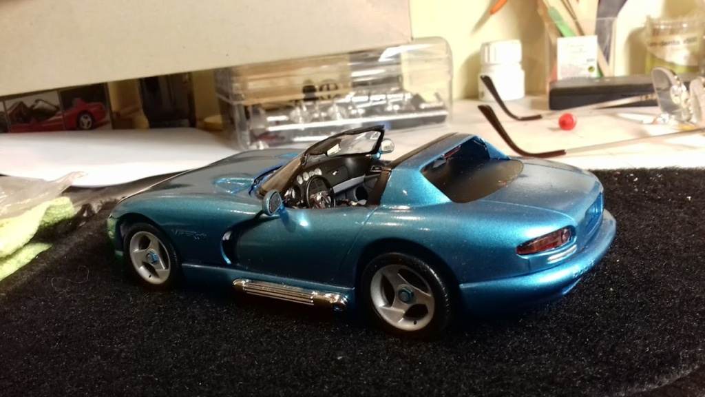 From The Box - DODGE VIPER R/T 10 Revell au 1/25 *** Terminé en pg 2 - Page 2 20210911