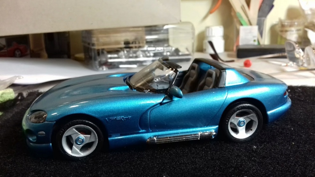 From The Box - DODGE VIPER R/T 10 Revell au 1/25 *** Terminé en pg 2 - Page 2 20210913